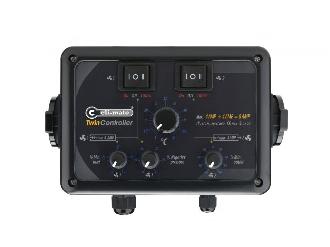 Twin Controller 8 AMP