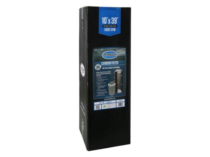 Uhlíkový filtr Phresh Filter PRO - 1500m3/h - Ø250mm