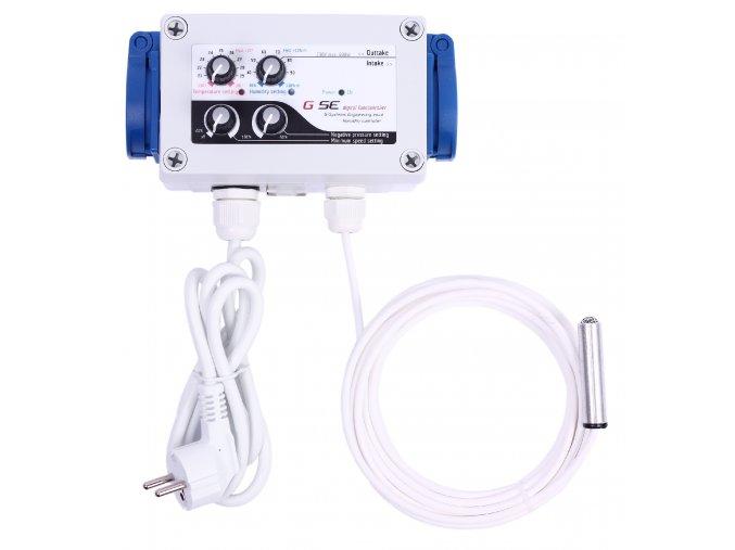 Humidity temperature negative pressure controller 2A front 300dpi