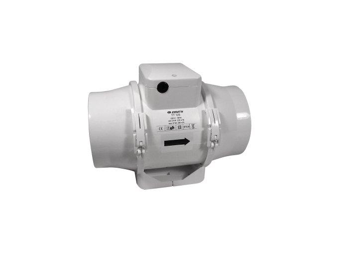 Ventilátor TT 125 - 280/220m3/h - Ø125mm