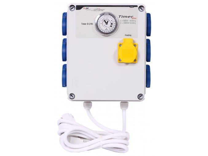 Timer box II 6x600W+heating front 300dpi