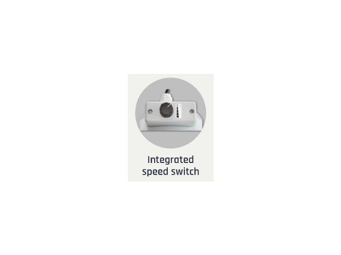 Ventilátor CAN-FAN RK 160 - 460m3/h - Ø160mm