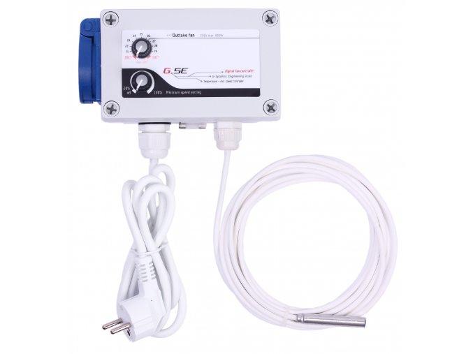 Temperature minimum speed controller 1A front 300dpi