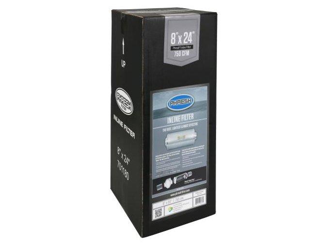 Uhlíkový filtr INLINE Phresh Filter PRO - 1275m3/h - Ø200mm