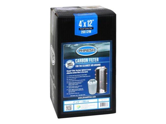 Uhlíkový filtr Phresh Filter PRO - 340m3/h - Ø100mm