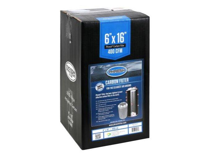 Uhlíkový filtr Phresh Filter PRO - 425m3/h - Ø125mm