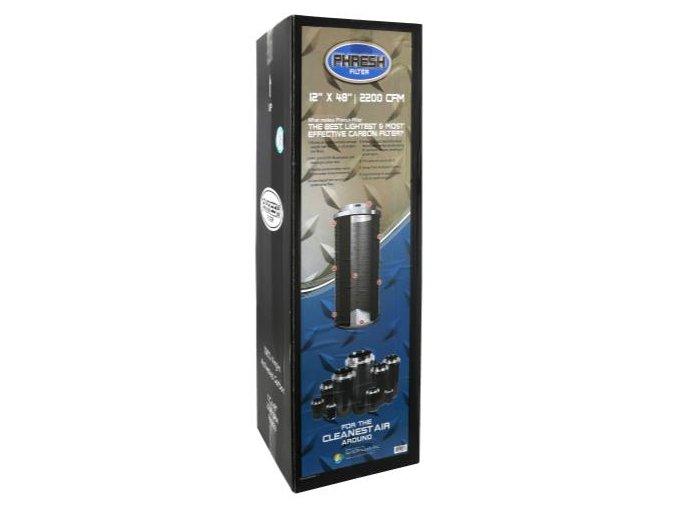 Uhlíkový filtr Phresh Filter PRO - 2380m3/h - Ø250mm