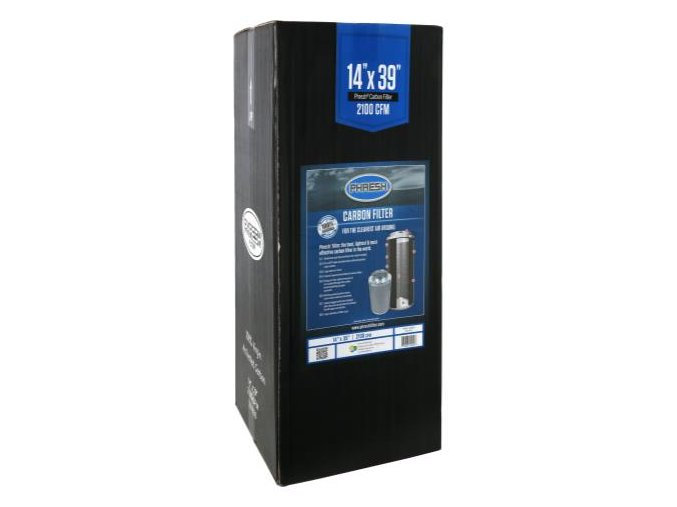 Uhlíkový filtr Phresh Filter PRO - 2500m3/h - Ø315mm