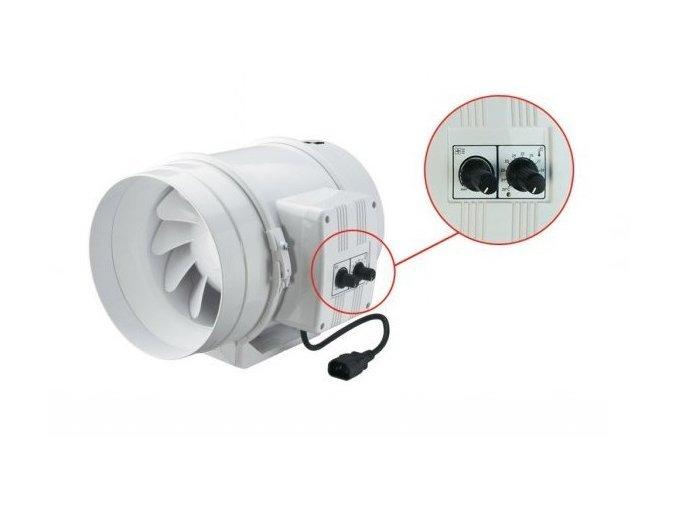 Ventilátor TT 315 U - 2350m3/hod - Ø315mm
