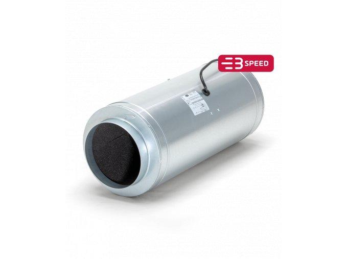 Odhlučněný ventilátor ISO-MAX - 870m3/h - Ø200mm - 3 rychlosti