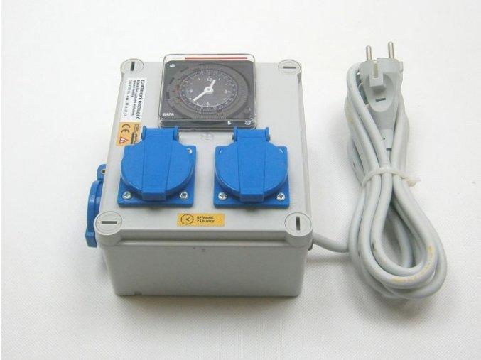 Malapa rozvaděč 2x 600W (2+1) 230V KL00