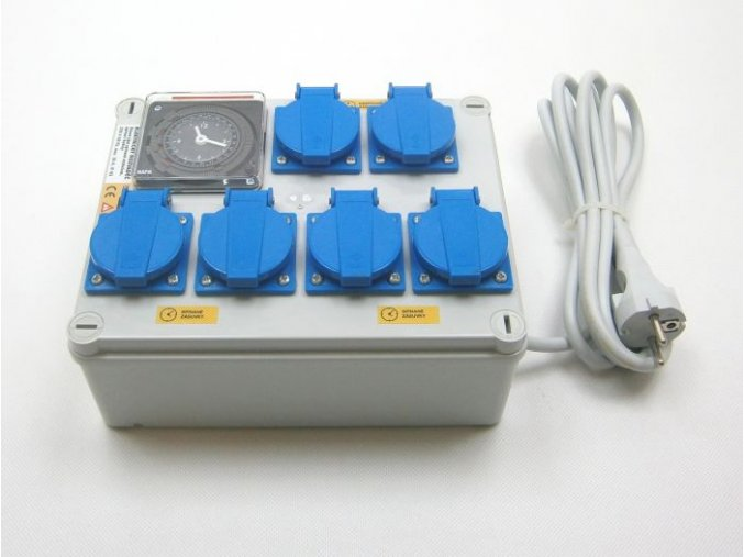 Malapa rozvaděč 4x 1200W (4+1+1) 230V KL01