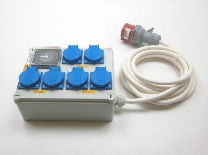 Malapa rozvaděč 4x 1200W (4+1+1), 400V 16A KL02