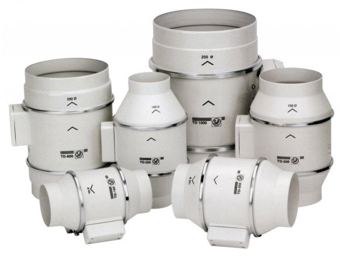 Ventilátor TD Mixvent 800/200 3V