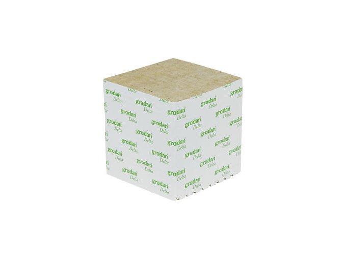 GRODAN pěstební kostka 100x100x65mm - bez díry BOX 216ks