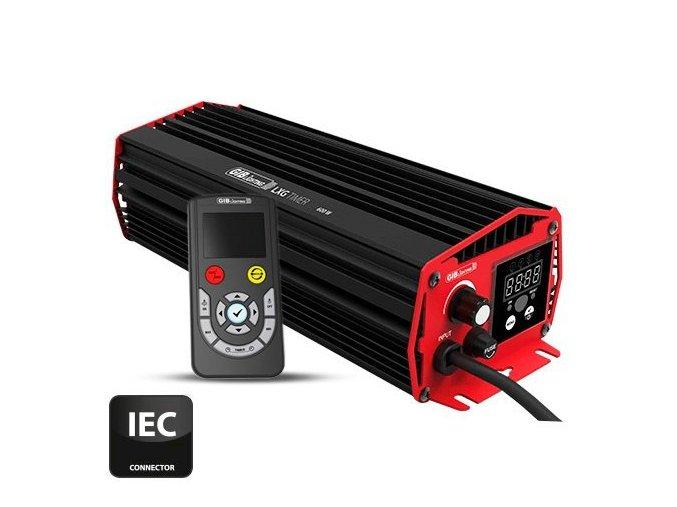 Digitální předřadník GIB LXG TIMER 600W - 230V - dálkový ovladač