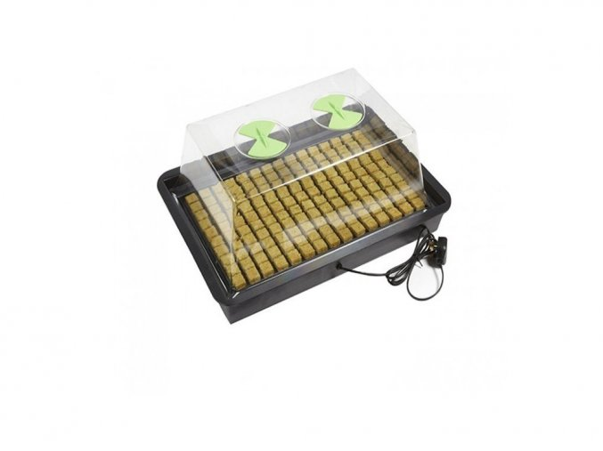 Vyhřívaný skleník X-Stream Heat S - bez regulace