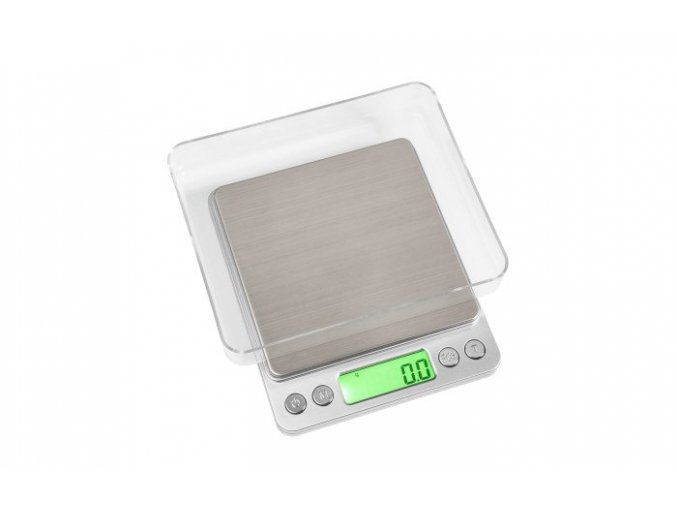 Váha ENVY miniscale 2000g/0,1g stříbrná
