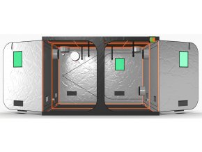 Green Qube V Grow Tent GQ300 3 x 3 x 2m OR 2.2m FRONT