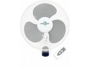 Cirkulační nástěnný ventilátor One4Air + dálkový ovladač - Ø40cm