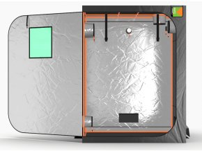 Green Qube V Grow Tent GQ150 1.5 x 1.5 x 2m OR 2.2m FRONT