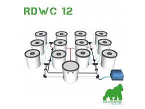 Hydroponic RDWC 12 growrilla hydroponics store