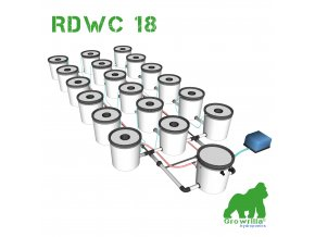 Hydroponic Systems RDWC 8 growrilla hydroponics store