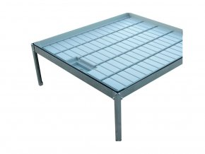 ECO stůl kovový pro vanu 100x100cm
