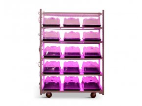 Propagační vozík s led na růst klonů sazenic a microgreens2