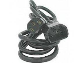 Kabel 3x1mm IEC prodlužovací - 3m