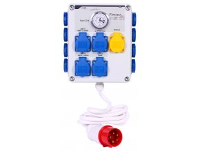 Timer box II 12x600W+heating 3p front 300dpi