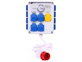 Timer box II 12x600W+heating 3p front 300dpi