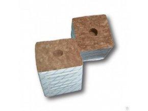 Agra-Wool Starting block - pěstební kostka 75x75x65mm, s malou dírou 1ks