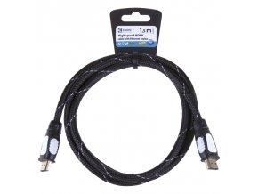 HDMI 2.0 high speed kabel eth.A vidlice-A vidlice 1,5m nylon
