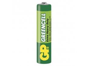 Zinková baterie GP Greencell AAA (R03)-1ks