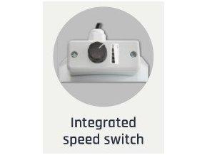 Ventilátor CAN-FAN RK 160L - 780m3/h - Ø160mm