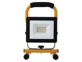 LED reflektor přenosný, neutrální bílá