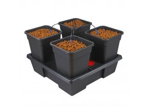4 pot square large 18l 68660
