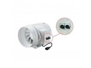 Ventilátor TT 200 U - 1040m3/h - Ø200mm