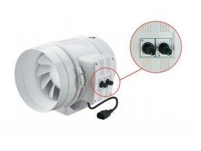 Ventilátor TT 250 U - 1400m3/hod - Ø250mm