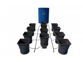 AutoPot 1Pot XL systém 12 květníků vč. 225L Flexitank