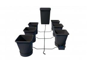 AutoPot 1Pot XL systém 6 květníků vč. 47L plastová nádrž