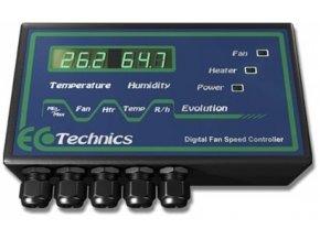 Ecotechnics Evolution Teploměr/Vlhkoměr - regulátor otáček 12A