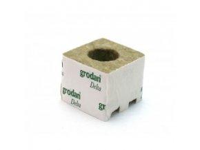 GRODAN pěstební kostka 75x75x65mm - s velkou dírou BOX 384ks