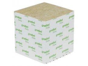 GRODAN pěstební kostka 100x100x65mm - bez díry - BOX 216ks