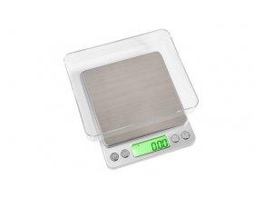 Váha ENVY miniscale 500g/0,01g stříbrná