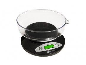 Váha KITCHEN BOWL scale 5kg/1g černá