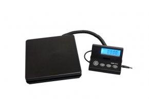Váha POSTAL scale 50kg/2g černá, s adaptérem do zásuvky