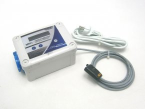 KOMBINOVANÝ digitální termostat s hygrostatem a regulací (min a max) pro odtah/ přítah MTH1