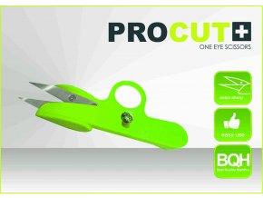Nůžky na ostříhávaní lístků PRO CUT - malé s jedním okem